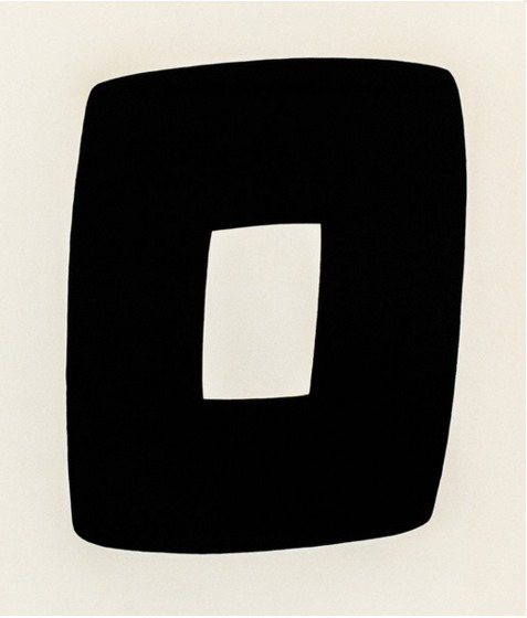 Ellsworth Kelly, 'Black with White A.9', 1964, Caviar20