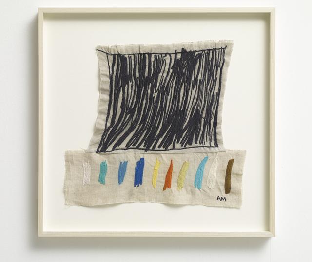, 'Grid 11, Cobalt Blue Dark,' 2017, Winston Wächter Fine Art