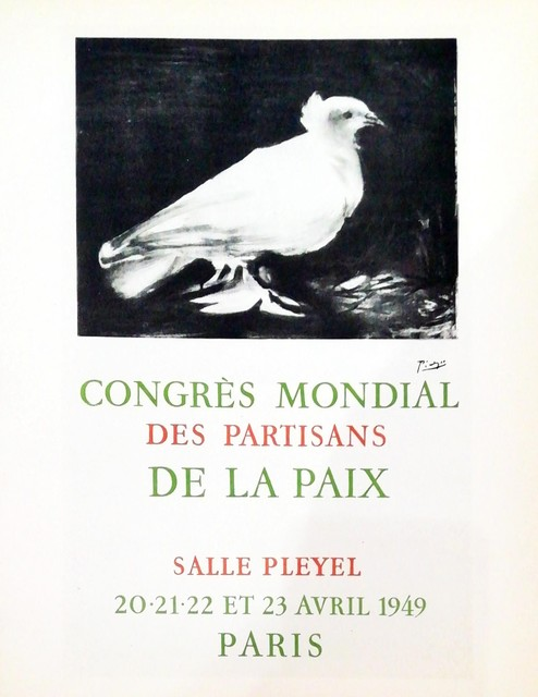 Pablo Picasso, 'Congrés Mondial', 1959, Hidden