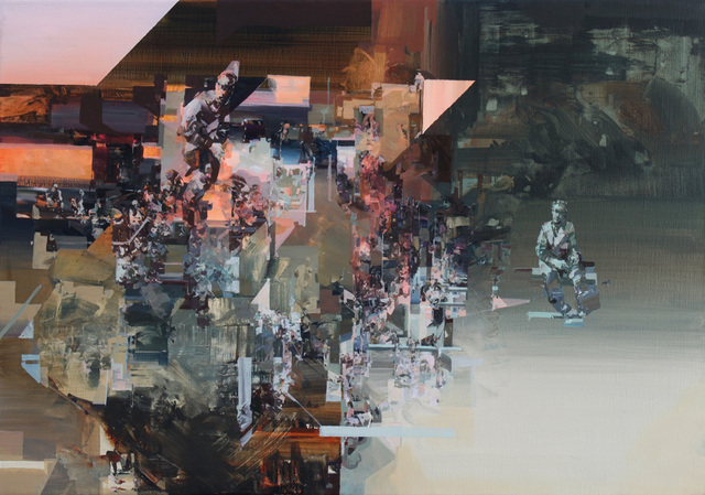 , 'No New Messages,' 2014, Lazinc