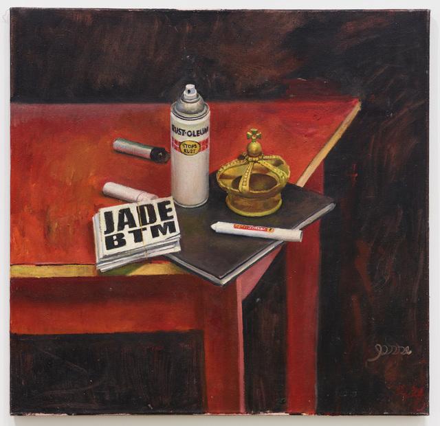 , 'Tribute to Graffiti Artist,' 2014, Diane Rosenstein