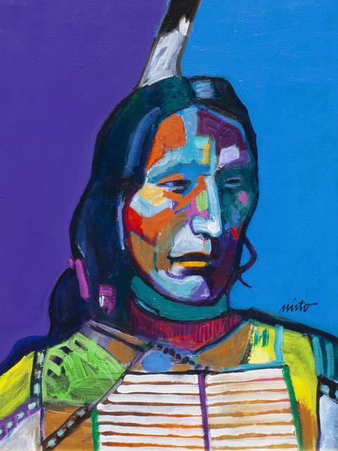 John Nieto, 'Red Cloud', ca. 2018, Ventana Fine Art