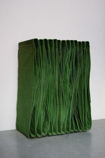 , 'Foot-Neck Wallspine,' 2012-2013, FOLD Gallery