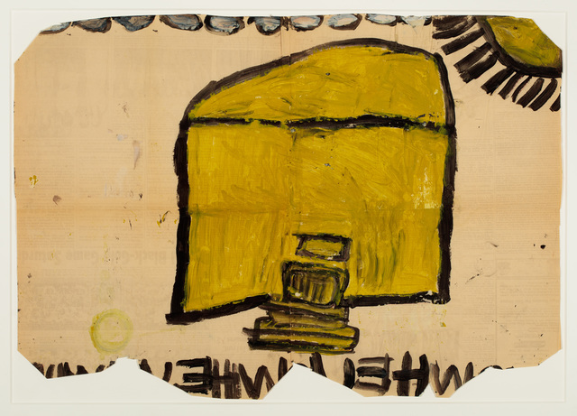 , 'Untitled (Yellow House),' 1972-1980, Ricco/Maresca Gallery