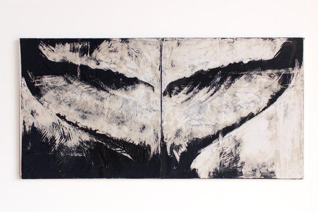 , 'Whale Fluke (Neri),' 2018, SILAS VON MORISSE gallery