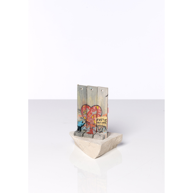Banksy, 'Souvenir Wall Section, Walled Off Hotel', 2018, Sculpture, Concrete block cream color and painted resin, PIASA