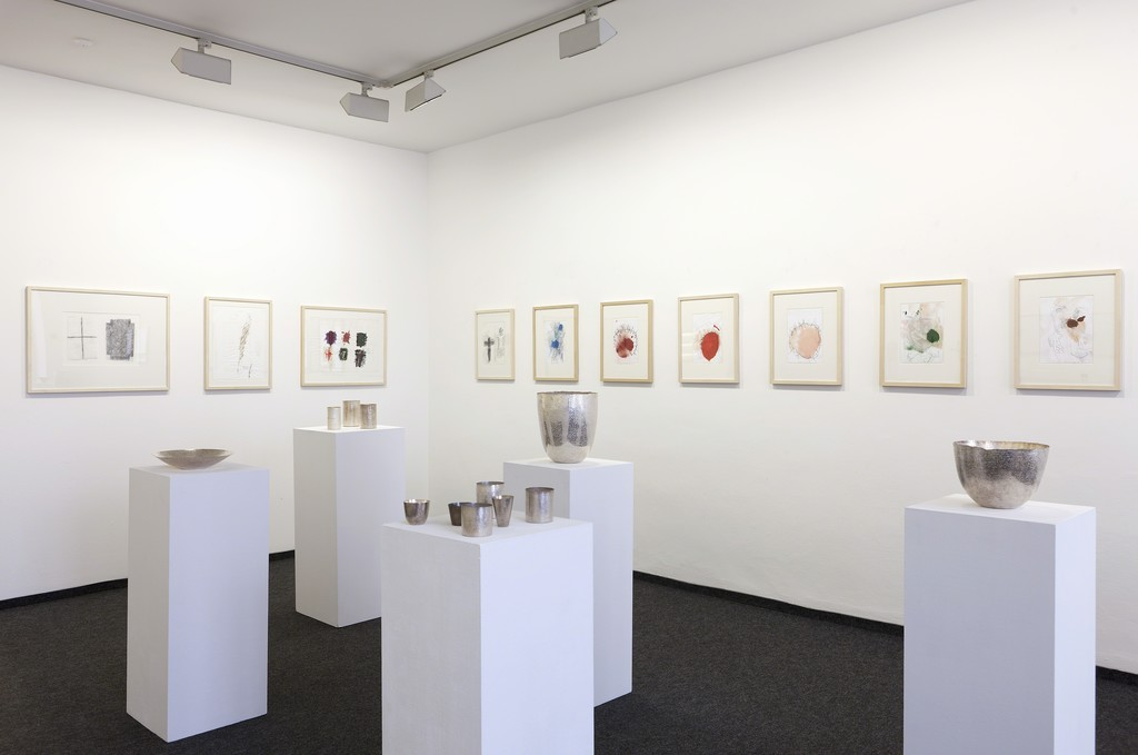 Installation view, Giampaolo Babetto - Drawings, Objects, Jewellery, 2016