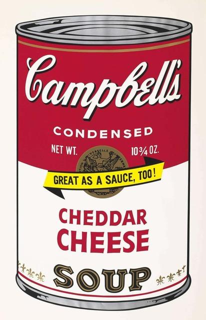 Andy Warhol, 'Campbell's Soup II, II.63 Cheddar Cheese', 1969, Print, Color screenprint, Elizabeth Clement Fine Art