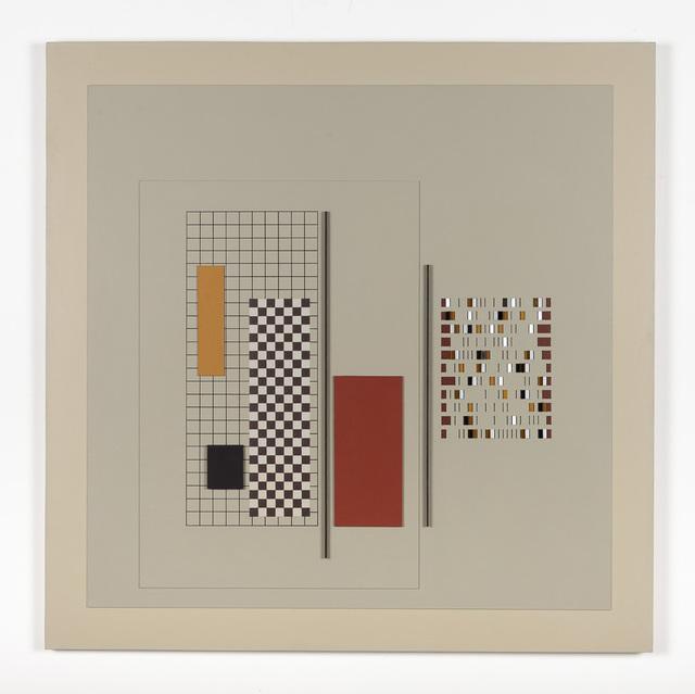 Andrew Christofides, 'Grey Construction No. 10', 1989, Charles Nodrum Gallery