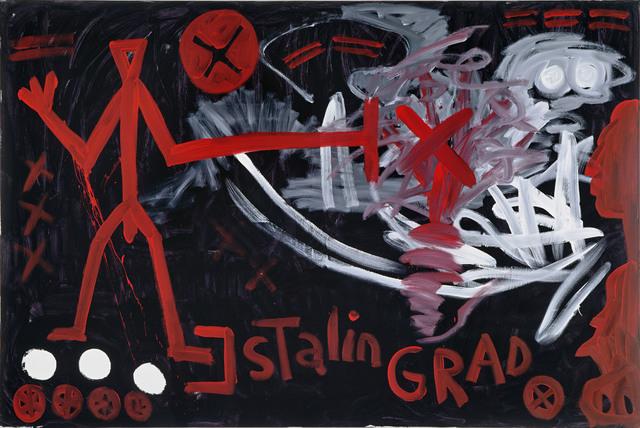 , 'Stalingrad (Erkenntnis) ,' 1991, Galerie Michael Haas
