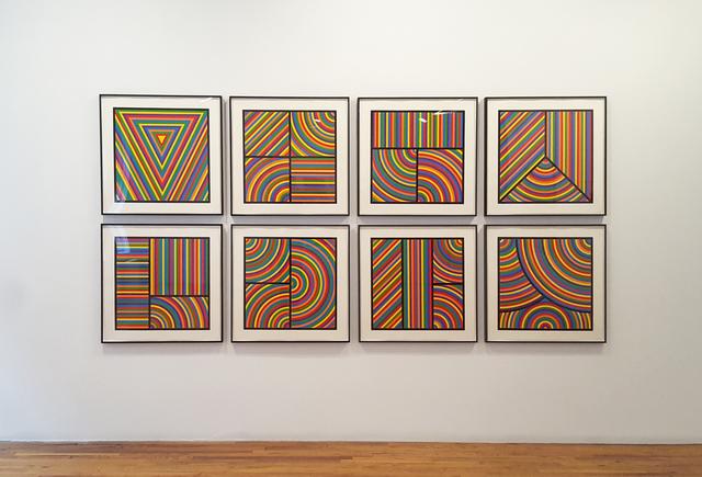 , 'Color Bands,' 2000, Brooke Alexander, Inc.