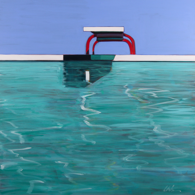 Melissa Chandon, 'Summer Pool', 2017, Painting, Acrylic on canvas, Tasende Gallery