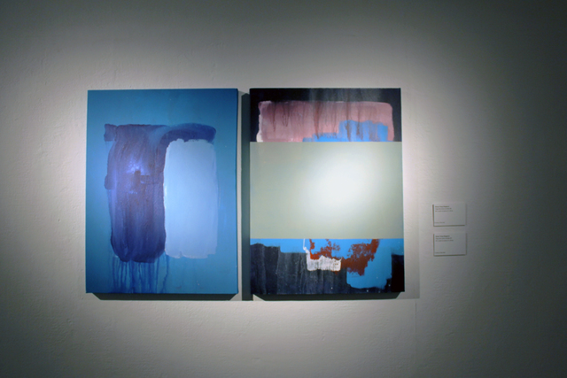, 'Things that remain unwritten #96 (left), #97 (right),' 2017, Hong Kong Arts Centre
