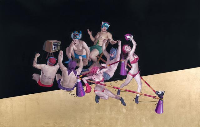 Chen-Dao Lee, 'Cat Fight-Heroes', 213, Aki Gallery