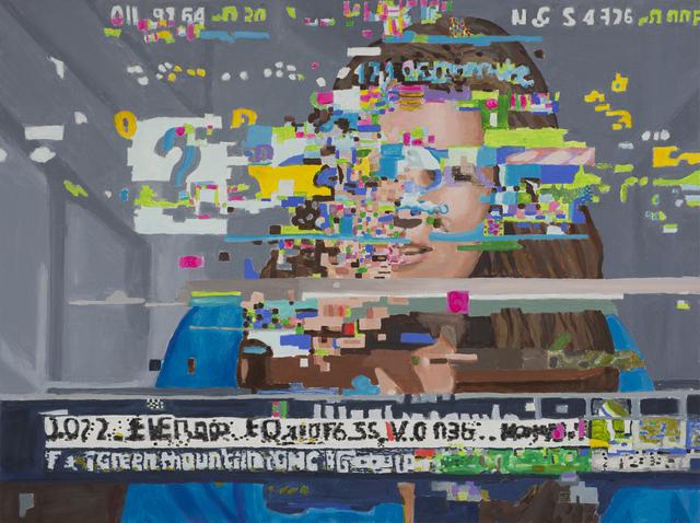 , 'Distortion 10 (Woman),' 2017, Bert Green Fine Art