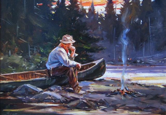 , 'Campfire,' , Quidley & Company