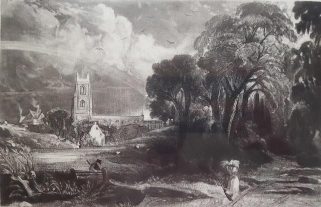John Constable, 'Stoke by Nayland, Suffolk', 1855, Graves International Art