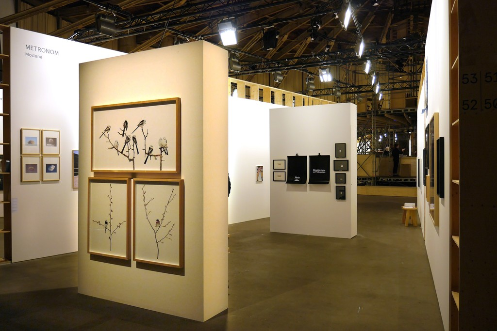 Installation view with Sanna Kannisto works, Alberto Sinigaglia's and Martina della Valle's.