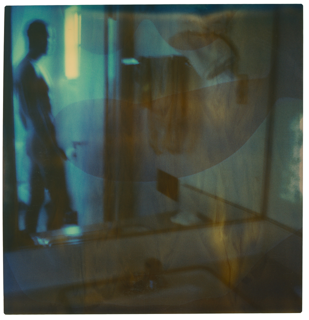 Stefanie Schneider, 'Male Nude in Bathroom', 1999, Photography, Digital C-Print based on a Polaroid, not mounted, Instantdreams