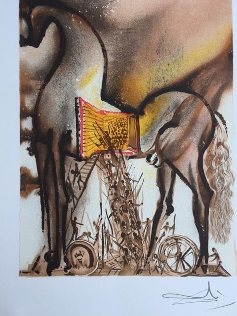 Salvador Dalí, 'Le cheval de troie', 1983, ByNewArt