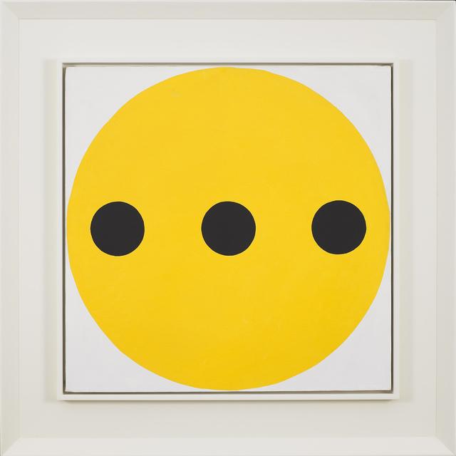 , 'Black-Yellow,' 1962, Vallarino Fine Art