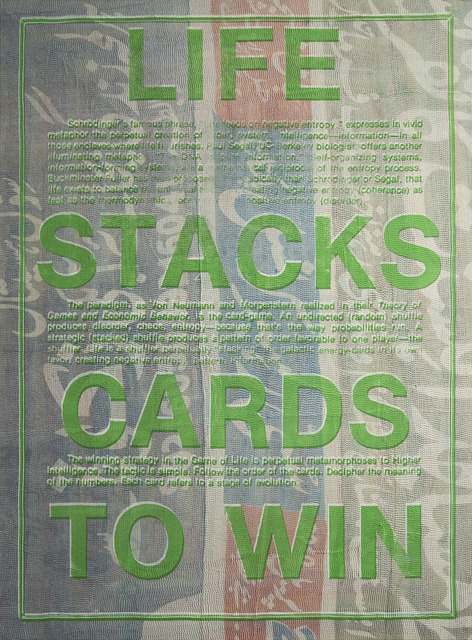 , 'Life Stacks,' 2014, Paradise Row