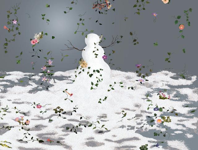 , 'Flowerstorm,' 2006, Galleria Raucci / Santamaria