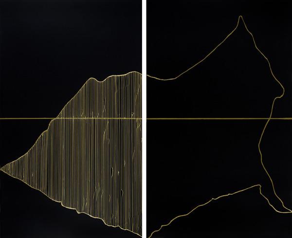 , 'Fragment III & IV,' 2013, Nohra Haime Gallery