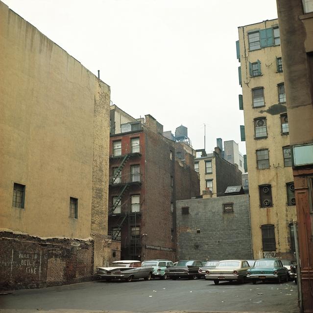 Michel Hosszu, 'PARKING WITH CARS – NEW YORK 1964', 1964, Poulpik Gallery