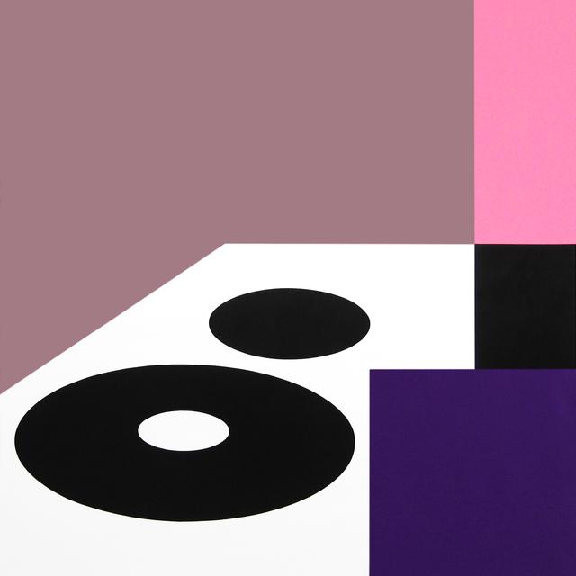 , 'Double Ellipse 1,' 2014, David Richard Gallery