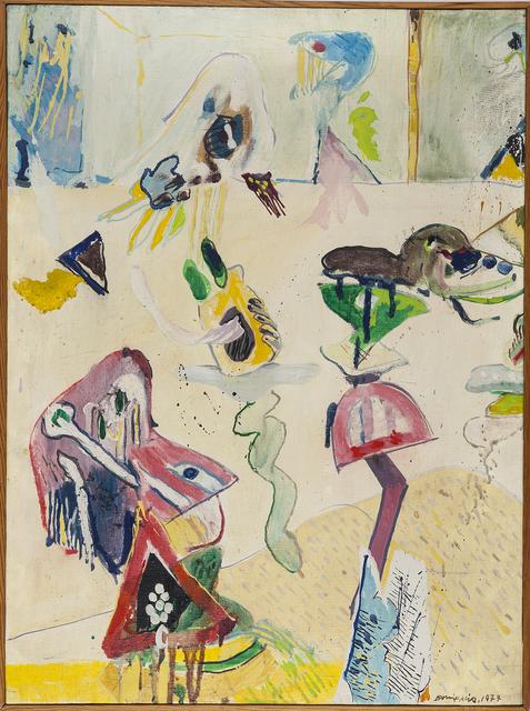 , 'Figuras,' 1977, Rafael Pérez Hernando Arte Contemporáneo