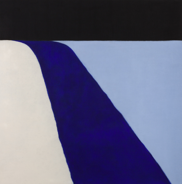, 'Untitled (Black/Blue),' 2015, Berry Campbell Gallery