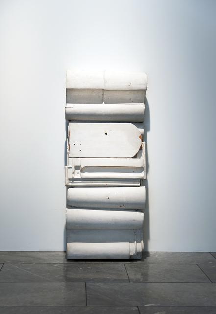 , 'Dachziegelrelief,' 1960, Dierking