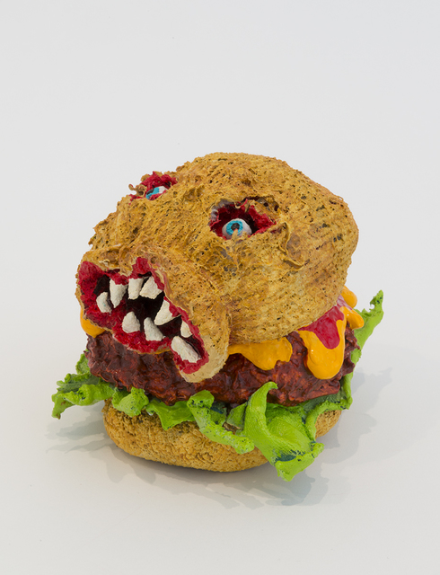 , 'Toothy Burger ,' 2017, Joshua Liner Gallery