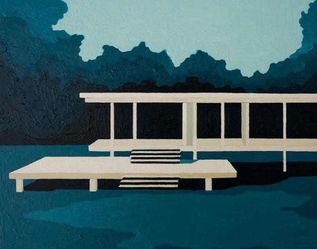 , 'Farnsworth House (Mies Van de Rohe),' 2016, Cynthia Corbett Gallery