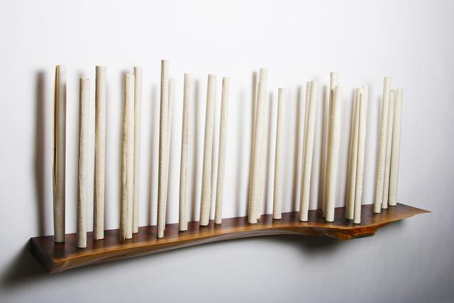 , 'Sanctuary 54 with Walnut,' 2019, Oeno Gallery