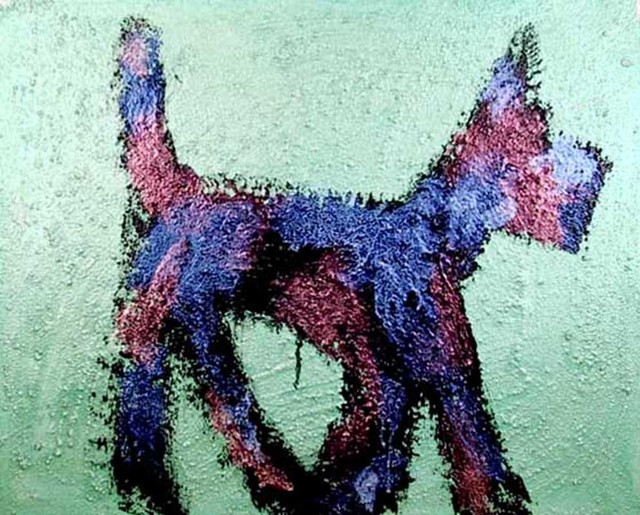 Peter Mayer, 'Dog Painting 3', 1990, RoGallery