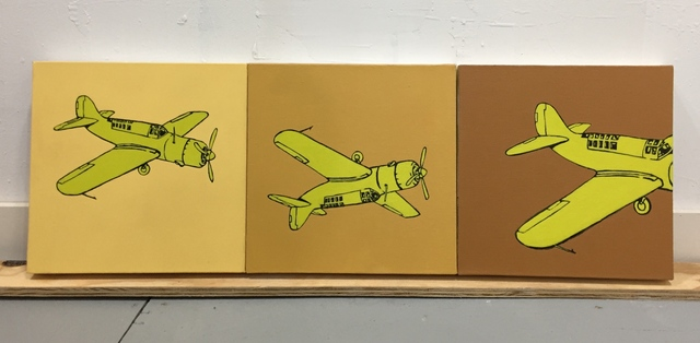 Charles Buckley, 'Airplane', 2012, Susan Eley Fine Art