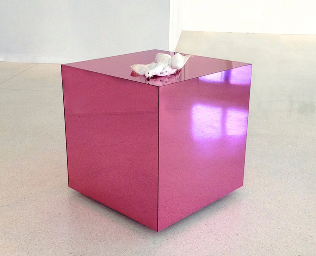 , 'Pink Cube,' 2014, Bruno David Gallery & Bruno David Projects