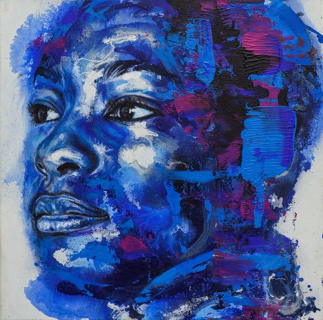 , 'Genevieve Study,' 2017, Lawrence Alkin Gallery