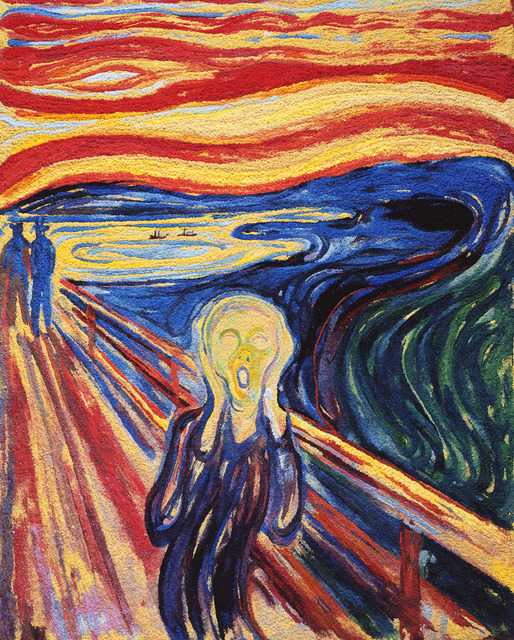 , 'The Scream, after Edvard Munch (Pictures of Pigment),' 2006, Ben Brown Fine Arts
