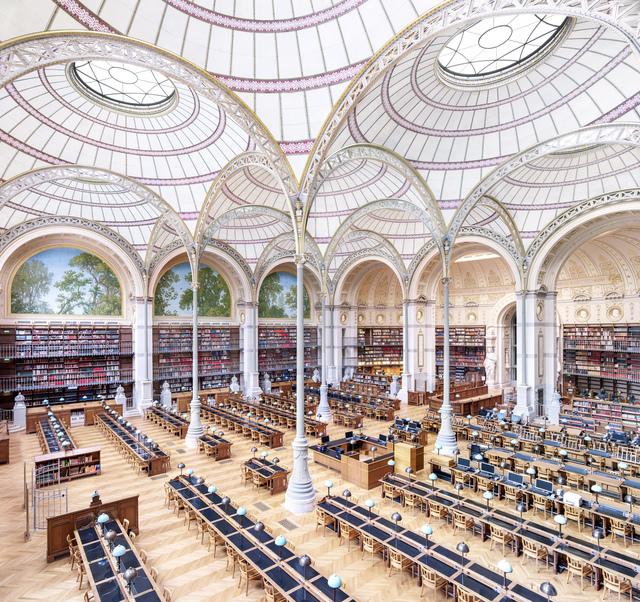 Candida Höfer, 'La Salle Labrouste - La Bibliothèque de L'INHA Paris III 2017', 2017, Ben Brown Fine Arts