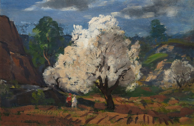 Gifford Beal, 'Strolling Through the Spring Fields', 19th -20th Century, Vose Galleries