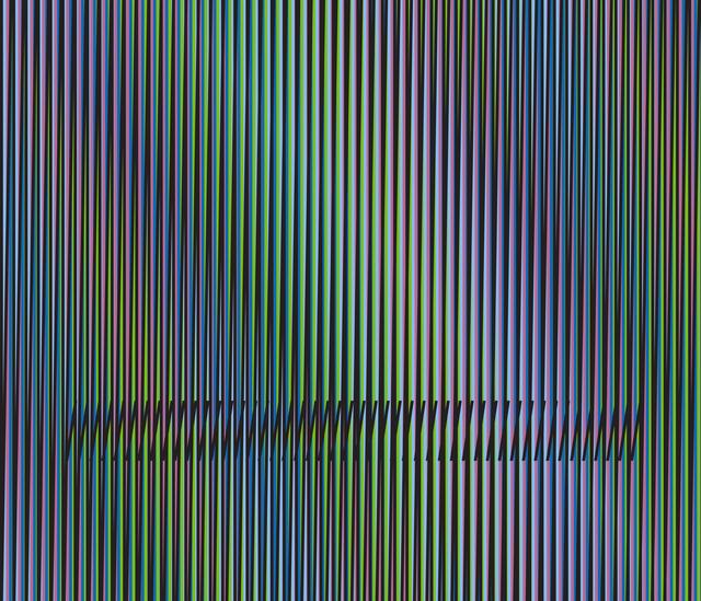 , 'Inducción Cromática a Doble Frecuencia Serie Caura 4,' 2015, Marion Gallery