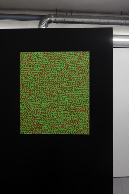 , 'Study 52-153 (The Eye Codex of the Monochrome),' 1984-2015, Martin van Zomeren