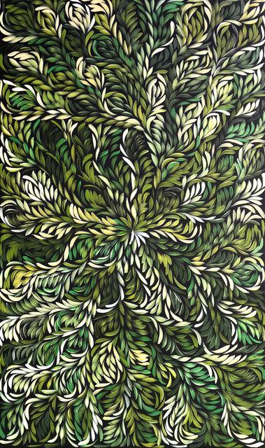 Louise Numina Napanangka, 'Bush Medicine Leaves', 2019, Wentworth Galleries