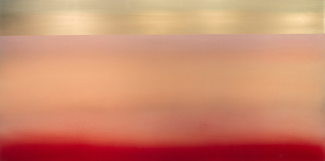 , 'Kasumi 60.30 Gold Red,' 2017, Sundaram Tagore Gallery
