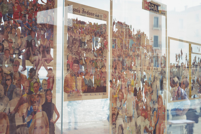 Zhanna Kadyrova, 'Crowd. Day (Installation view)', 2012-2013, 56th Venice Biennale