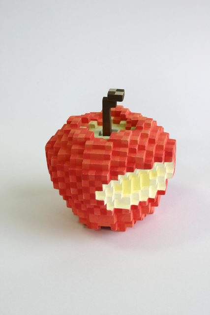 , 'Low pixel CG, The Fruit of Knowledge,' 2013, Micheko Galerie