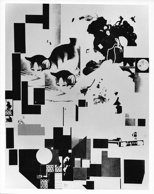 , 'Katzen Blatt 6 der MERZ Mappe 3. (Cats. Plate 6 from the portfolio MERZ Mappe 3),' 1923, Alice Adam Ltd.